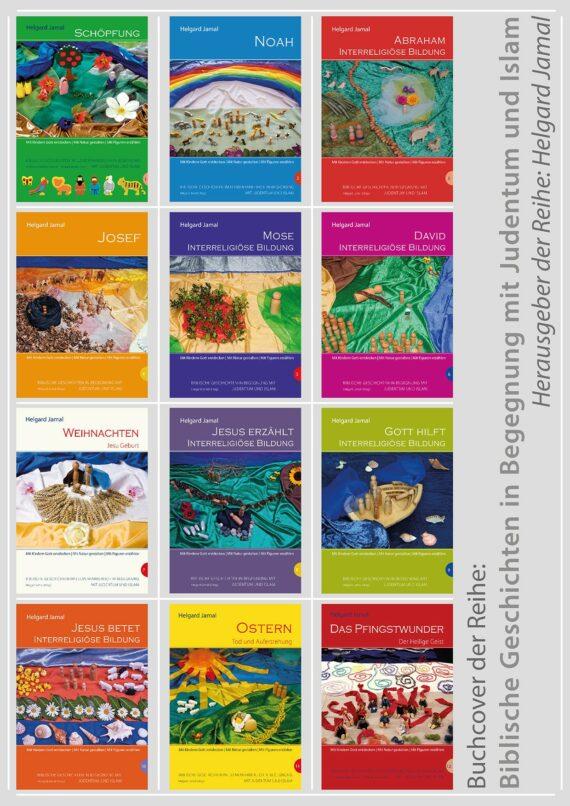 Die Titelseiten der Bücher
